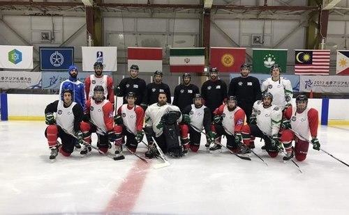 تیم ملی هاکی روی یخ ایران