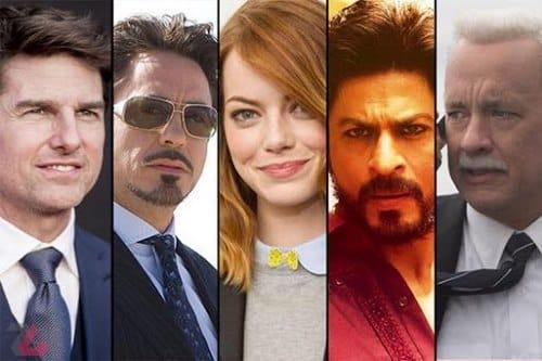معروف ترین بازیگران جهان چه کسانی هستند
