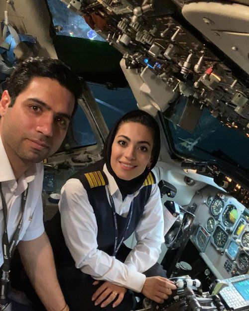 نشاط جهانداری بیوگرافی کامل شایسته ترین خلبان زن ایران